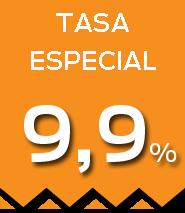 Tasa 9,9%
