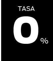 Tasa 0%