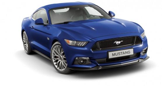 Mustang Azul Aurora
