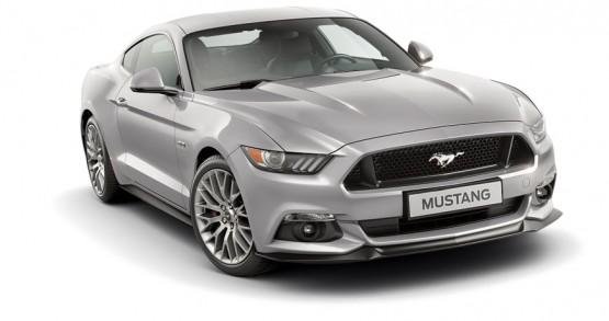 Mustang Gris Plata