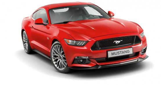 Mustang Rojo Sport